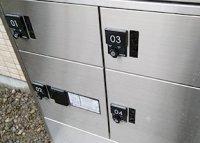 宅配便の受け取りに便利!宅配ボックスを設置しました。